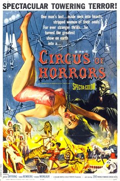 Circus of Horrors [1960] - comprar online