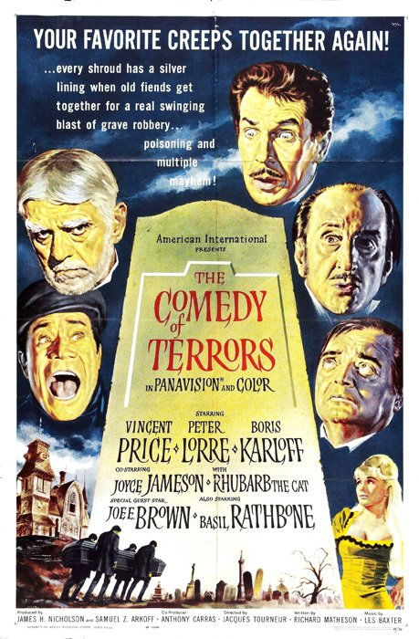 Comedy of Terrors [1963] en internet