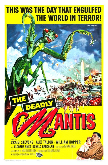Deadly Mantis [1957] en internet
