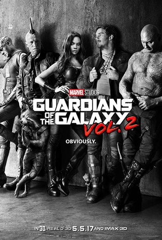 Poster Guardians of the Galaxy Vol. 2 [2017]
