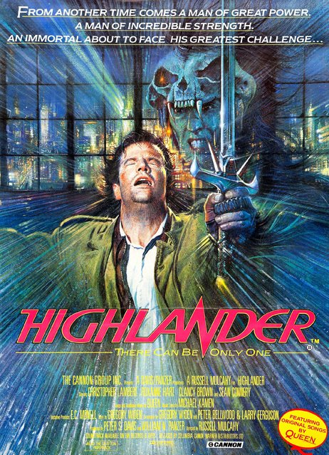 Highlander [1986] en internet