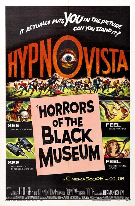 Horrors of the Black Museum [1959] - comprar online