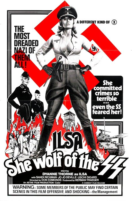 Ilsa She Wolf of SS [1975] en internet