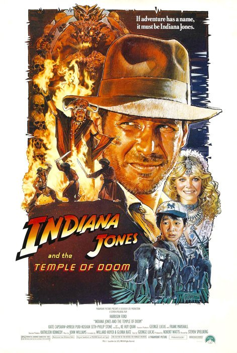 Poster Indiana Jones and the Temple of Doom [1984]