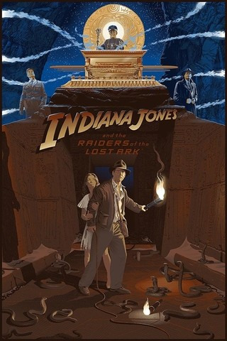 Poster Indiana Jones  and the Raiders of the Lost Ark (copia)