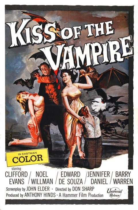 The Kiss of the Vampire [1963]
