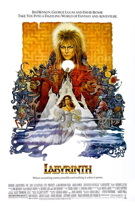 Labyrinth [1986] en internet