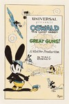 Oswald the Lucky Rabbit in Great Guns! [1927] - comprar online