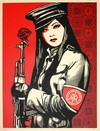 Peace Goddess by Shepard Fairey - comprar online