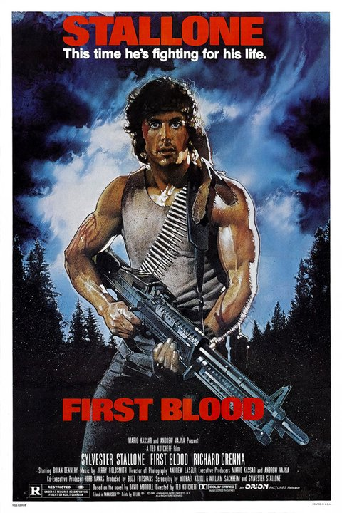 Poster Rambo First Blood [1982]