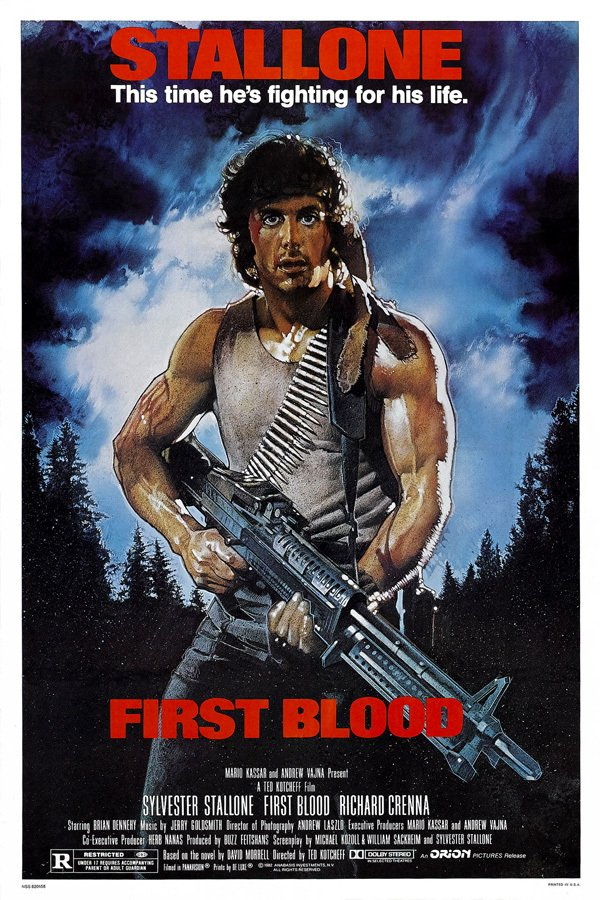 Poster Rambo First Blood [1982] - comprar online