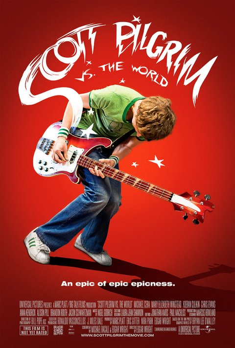 Scott Pilgrim vs The World [2011]