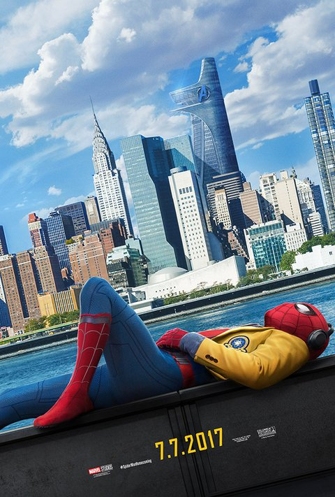 Poster Spider Man Homecoming [2017]