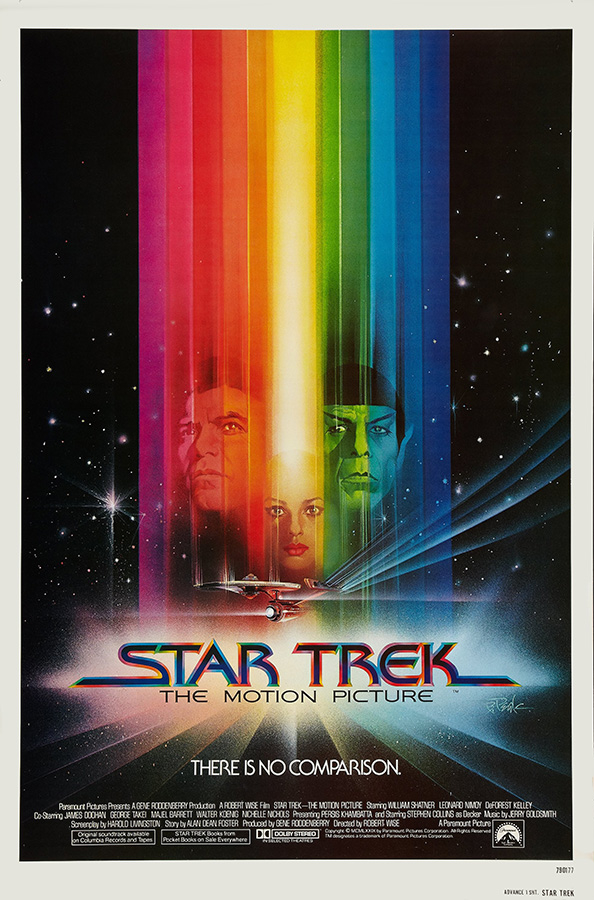 Poster Star Trek The Motion Picture [1979] - comprar online