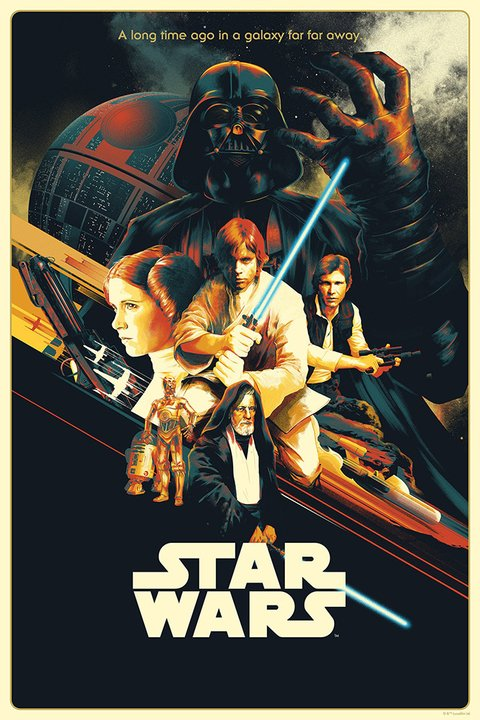 Poster Star Wars_A New Hope AMP