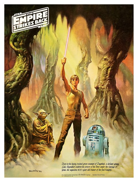 Poster Set Star Wars The Empire Strikes Back Especial Coca-Cola