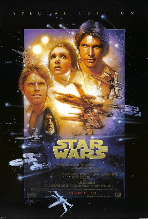 Star Wars_A New Hope_10th Anniversary [1977] en internet