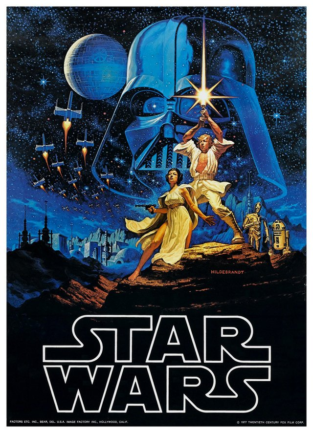 Star Wars - Episode IV - A New Hope - Hildebrandt