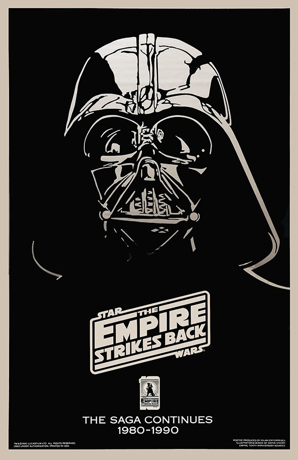Poster Star Wars The Empire Strikes Back 10th Anniversary Edition [1990]