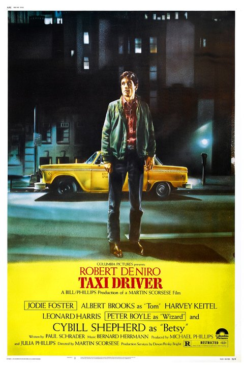 Poster Taxi Driver [1976]