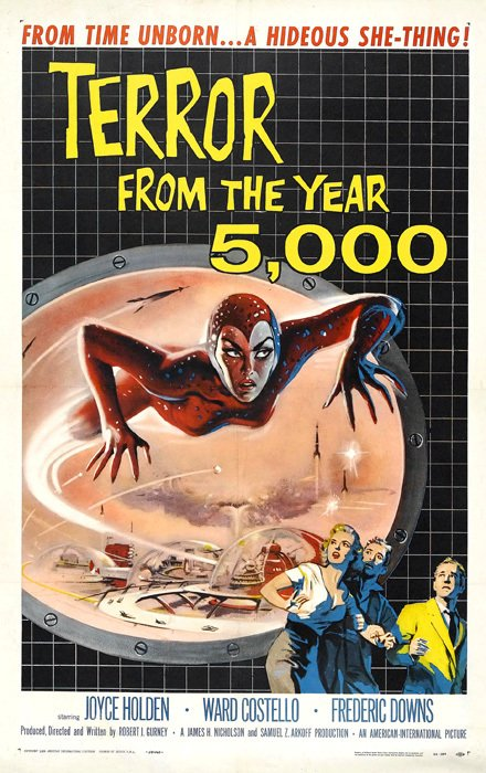 Terror from the Year 5000 [1958] en internet