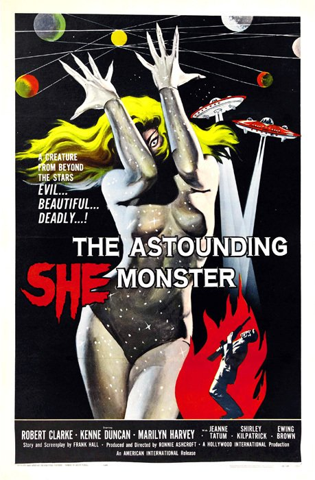 The Astounding She Monster [1957]