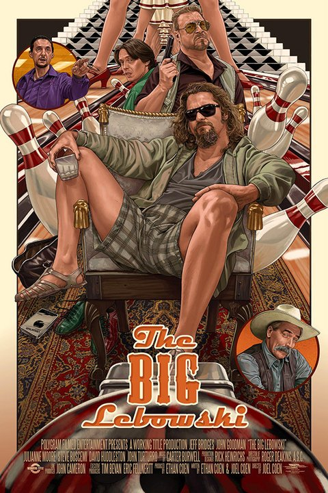 Poster The Big Lebowski