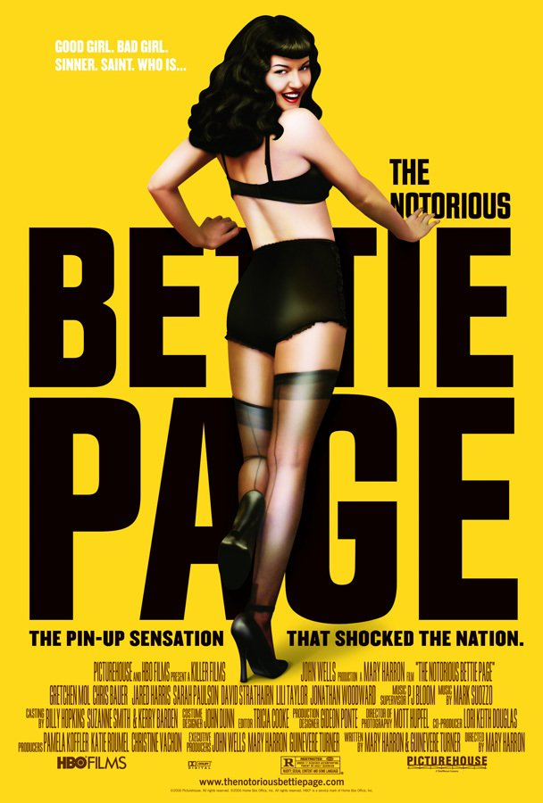 The Notorious Bettie Page [2005] en internet