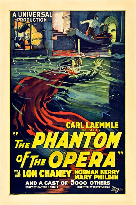 The Phantom of the Opera [1925]