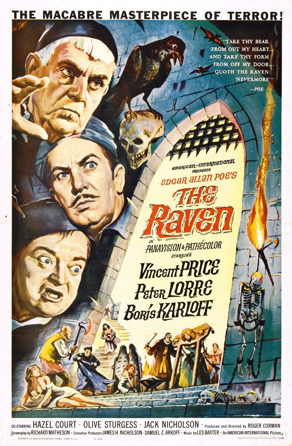 Poster The Raven [1963]