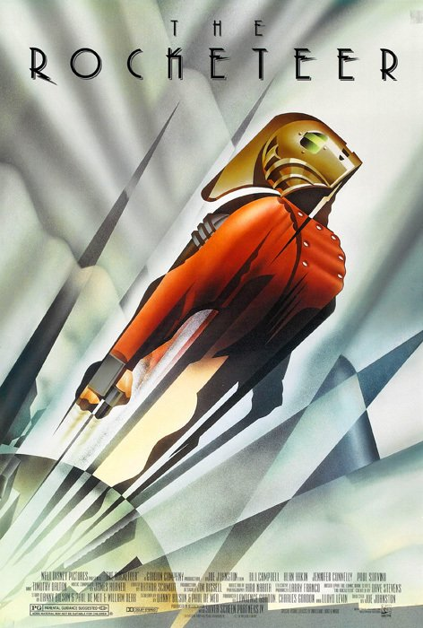 Poster The Rocketeer [1991] en internet