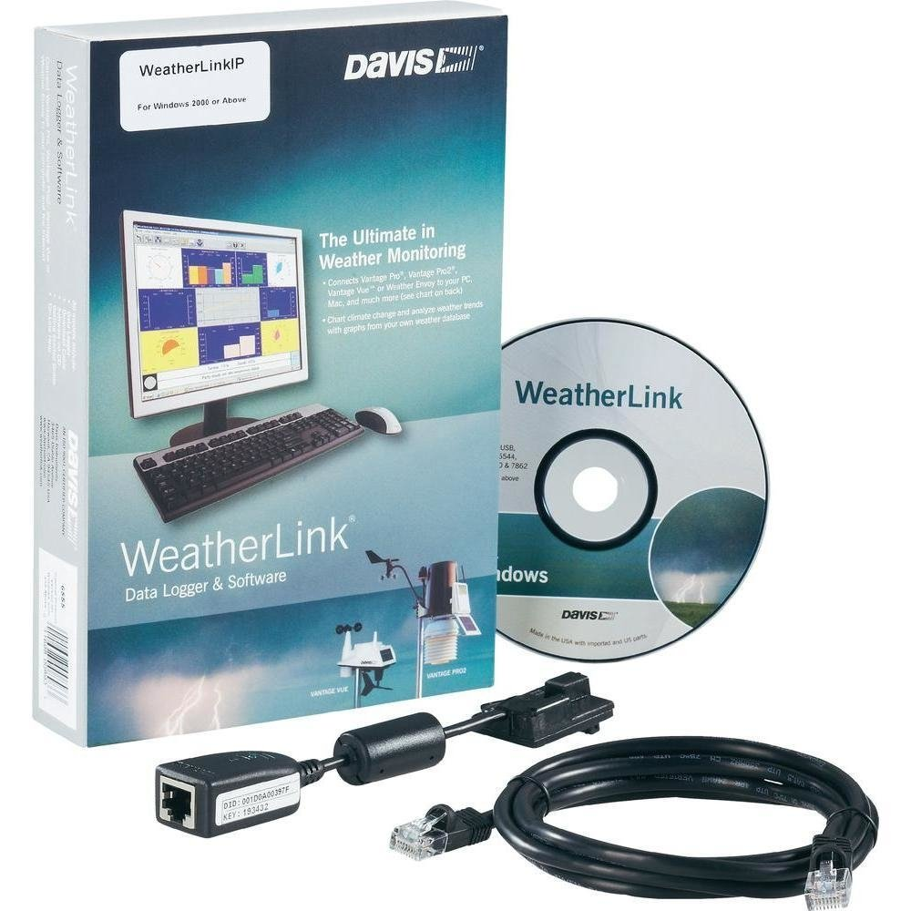 Software Weatherlink Davis - Conexão IP