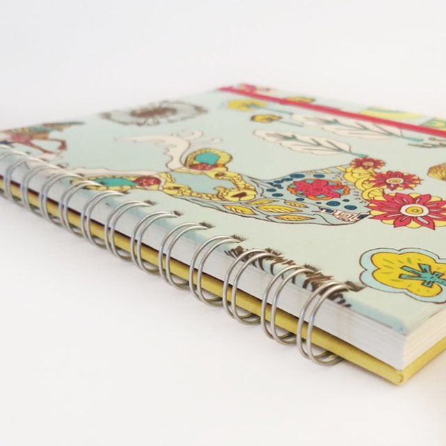 Libreta Colorful Deer in Aqua - comprar online