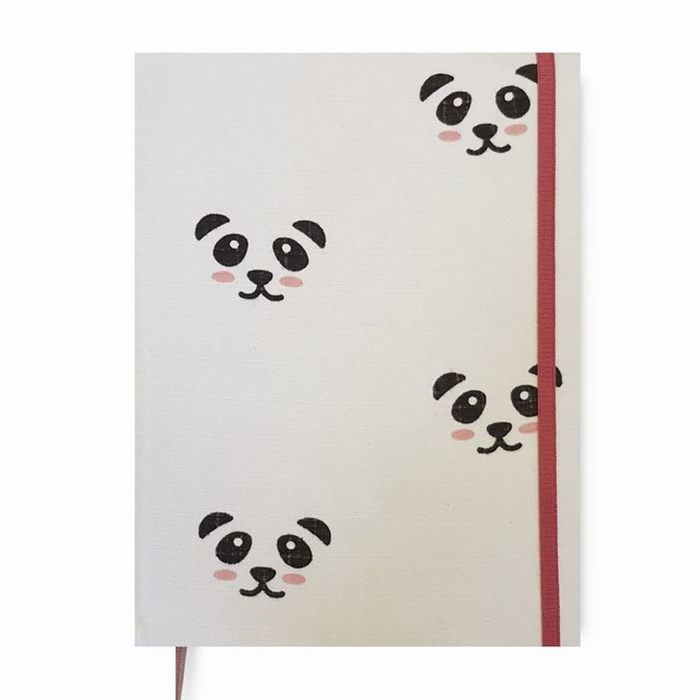 Baby Book • Pandas in White