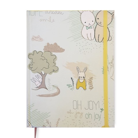 Baby Book • Bunnies in Green + YEAR PLANNER de Regalo