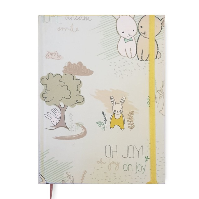 Baby Book • Bunnies in Green
