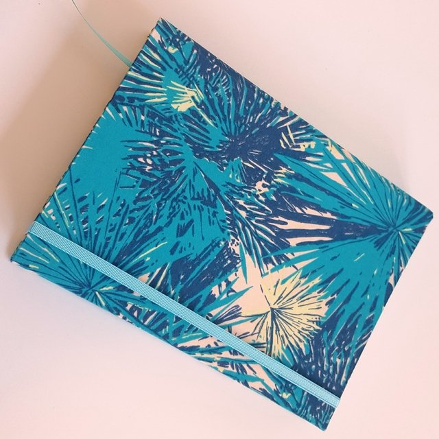 Notebook • Stain Blue Flower - Florence Livres