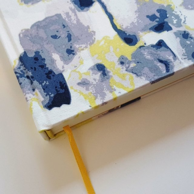Notebook • Yellow Watercolor Stain - Florence Livres