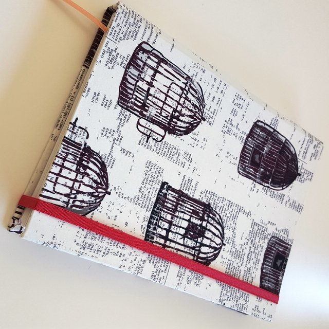 Notebook • Bird Cage in Black - Florence Livres