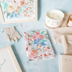 Agenda 2021 Hope - Watercolor Flowers - Florence Livres