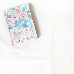 Agenda 2021 Anillada Hope - Watercolor Flowers - comprar online