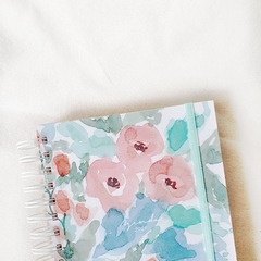 Agenda 2021 Anillada Hope - Watercolor Flowers en internet