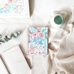 Agenda 2021 Anillada Hope - Watercolor Flowers - Florence Livres
