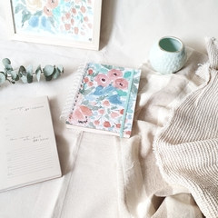 Agenda 2021 Anillada Hope - Watercolor Flowers - tienda online