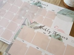 "Set x 3 Planners ""Hawaii"" - Florence Livres"
