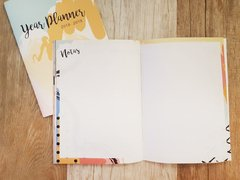 "Year Planner ""Pink"" - Florence Livres"