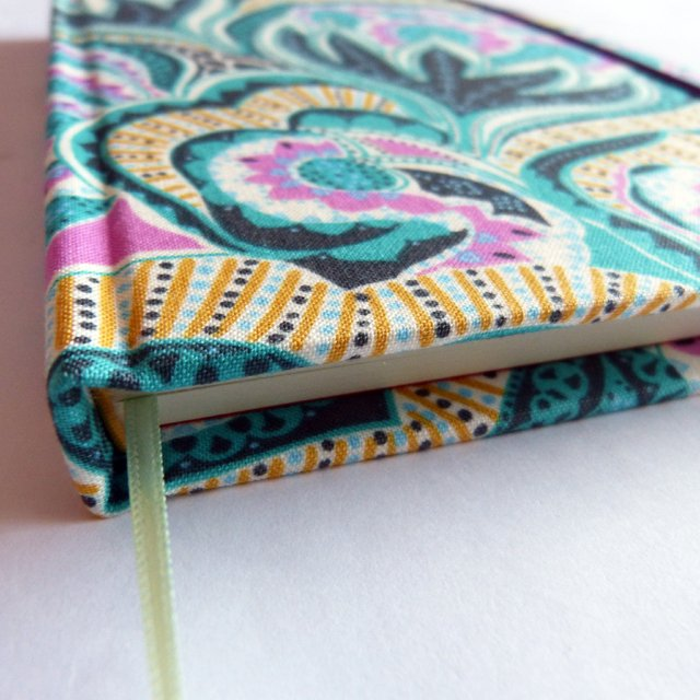 Notebook • Floral in Turquoise Rose - comprar online