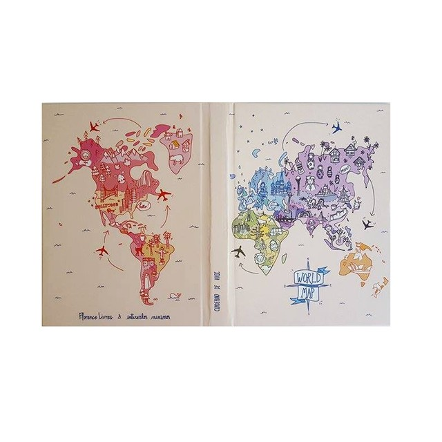 Cuaderno de Viaje • World Map en internet