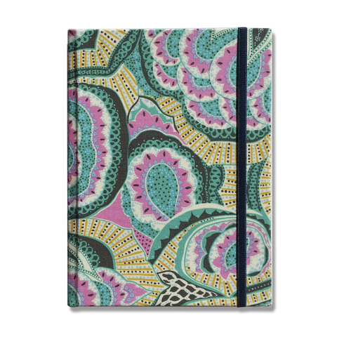 Notebook • Floral in Turquoise Rose