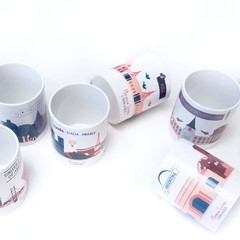 Set x 6 · Tazas Around The World - comprar online